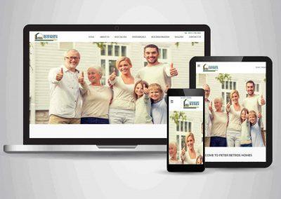 Peter Betros Homes - Website Designer Brisbane Portfolio