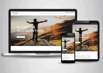 Elliots Accounting - Website Designer Brisbane Portfolio