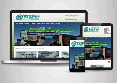 Garden City Tyre - Website Designer Brisbane Portfolio