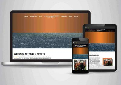 Warwick Outdoor and Sports - Website Designer Brisbane Portfolio