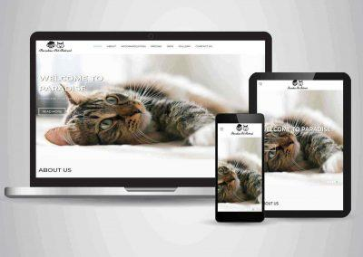 Paradise Pet Retreat - Website Designer Brisbane Portfolio
