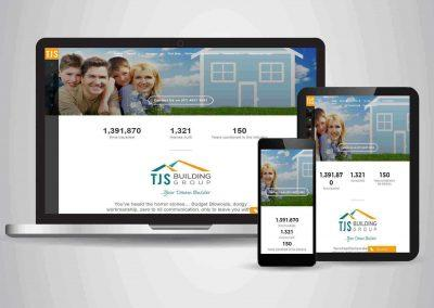 TJS Building Group - Website Designer Brisbane Portfolio