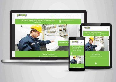 Reliable Electrical and Air - Website Designer Brisbane Portfolio