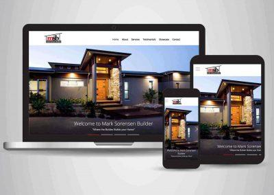 Mark Sorenson Builders - Website Designer Brisbane Portfolio