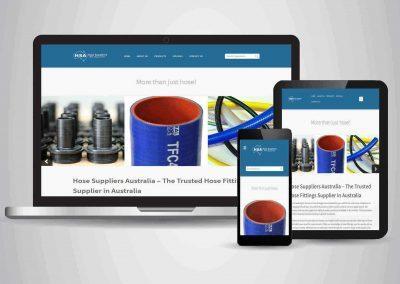 Hose Suppliers Australia - Website Designer Brisbane Portfolio