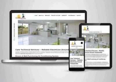 Care Technical Services - Website Designer Brisbane Portfolio