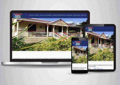 Jacksons Painting Solutions - Website Designer Brisbane Portfolio