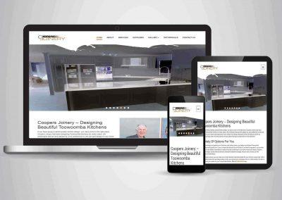 Coopers Joinery - Website Designer Brisbane Portfolio
