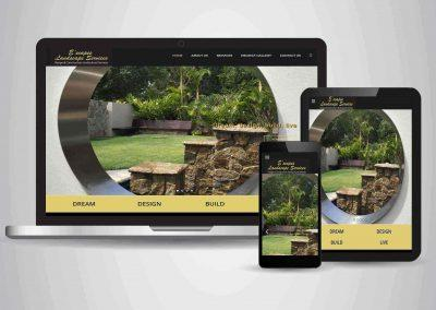 E'scapes Landscape Services - Website Designer Brisbane Portfolio